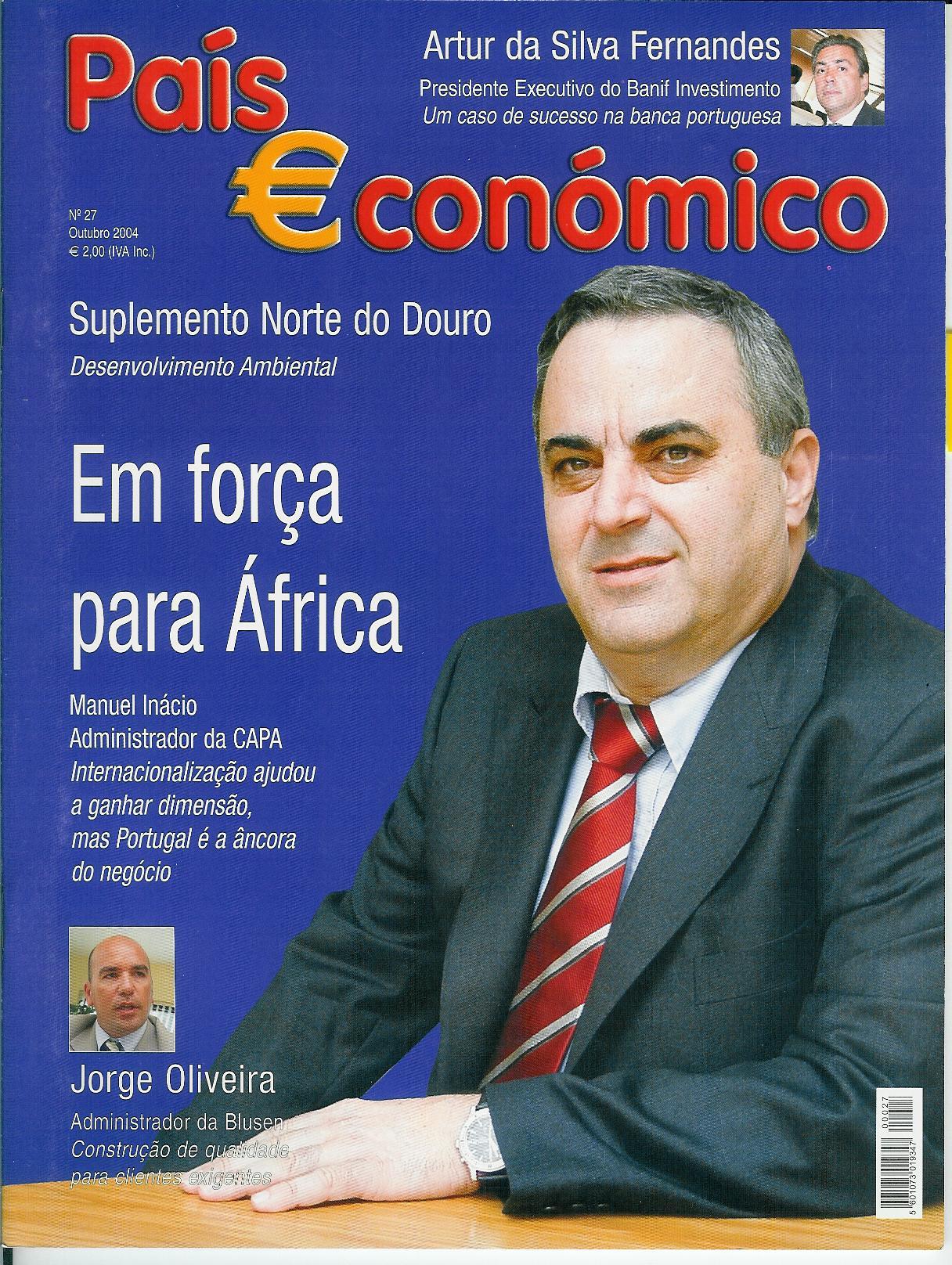REVISTA PAIS ECONÓMICO - CAPA